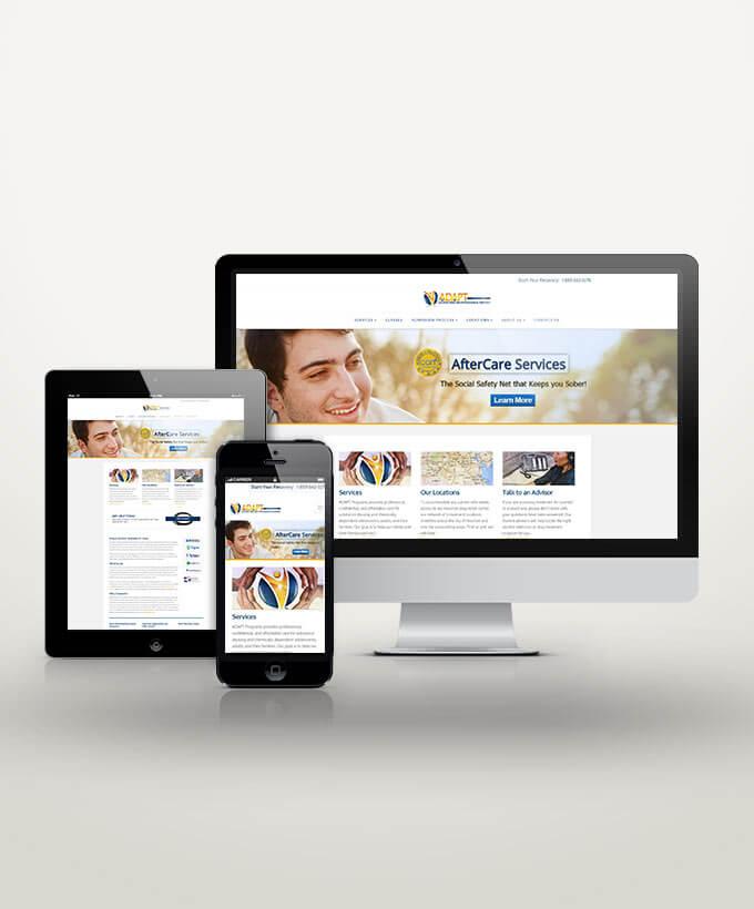 Web Design for Drug Rehab Facilities