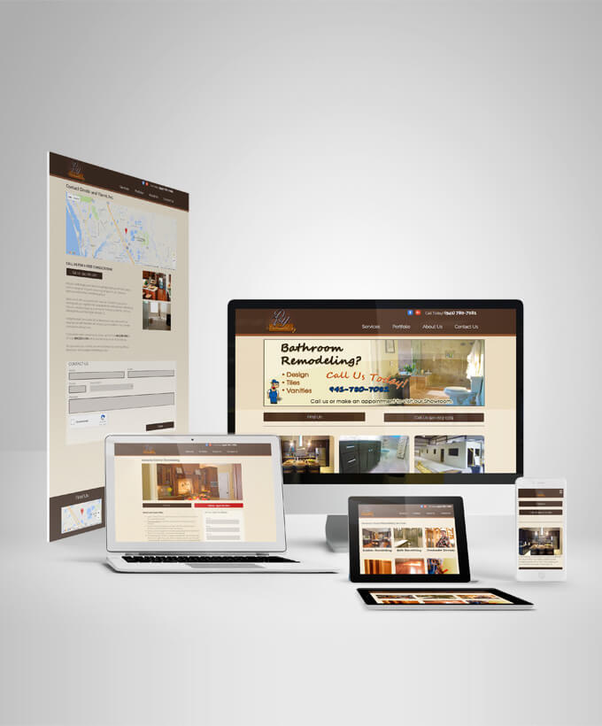 Lead Website for construction