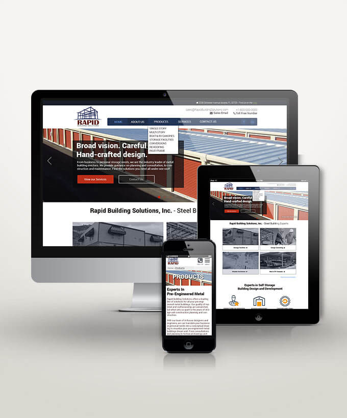 Rapid Building Solutions design